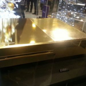 24K Gold Plated Xbox One