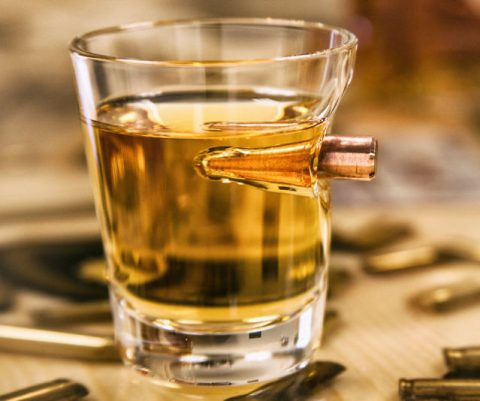 .308 Real Bullet Shot Glass