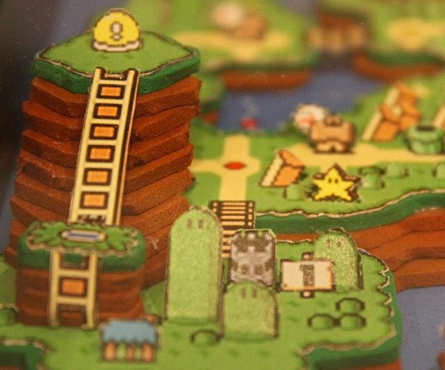 3d Super Mario World Papercraft Interwebs