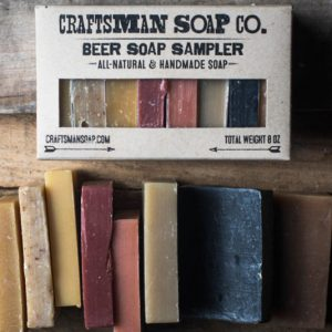 All Natural Beer Soap Set