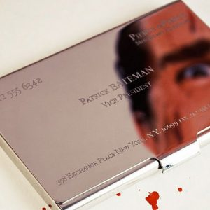 American Psycho Business Card Case