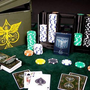 Ammo Box Poker Set