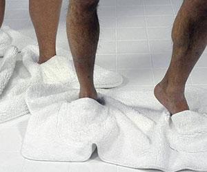 Bathroom Mat Slippers