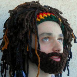 Bearded Rastafarian Hat