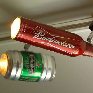 Beer Can Track Lights