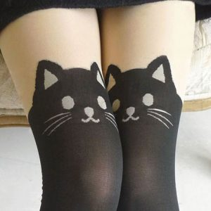 Black Cat Stockings