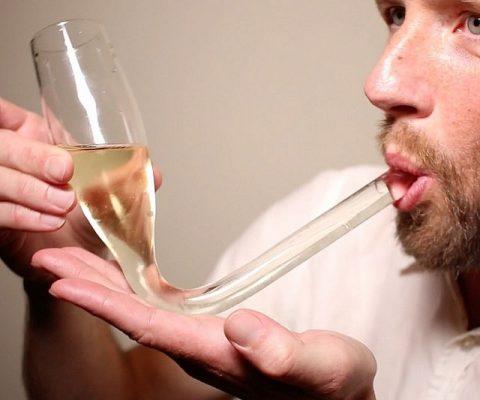 Champagne Shotgun Glass