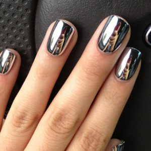 Chrome Stick-on Nails