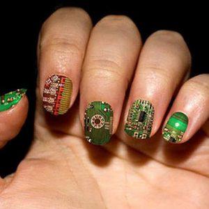 Circuit Board Fingernails