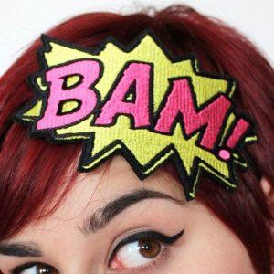 Comic Book Sound Effects Headband