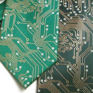 Computer Circuit Board Tie