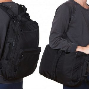 Convertible Messenger Bag Backpack