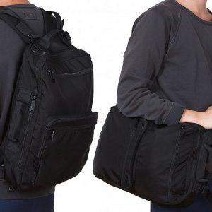 Convertible Messenger Bag Backpack