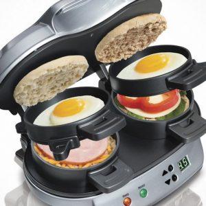 Dual Breakfast Sandwich Maker