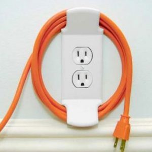 Electric Cord Wall Cleat