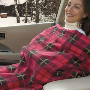 Electric Heated Travel Blanket