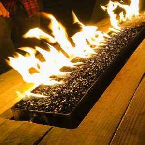 Fire Pit Picnic Table