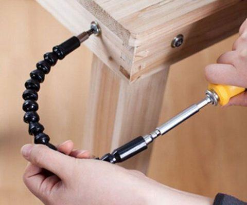 Flexible Drill Bit Extender