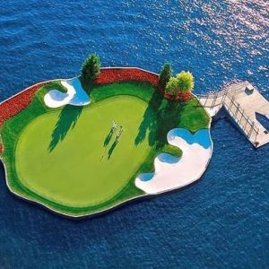 Floating Island Golf Course