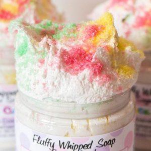 Fluffy Whipped Soap Sugar Scrub