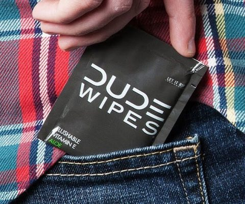 Flushable Wipes For Dudes
