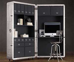 Folding Office Trunk