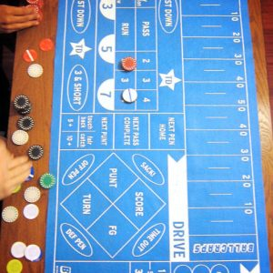 Football Betting Game Board