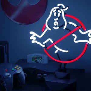 Ghostbusters Neon Light