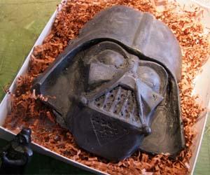 Giant Darth Vader Soap Bar