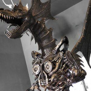 Giant Metal Dragon