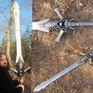 Giant Steel Sword