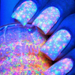 Glow In The Dark Neon Nail Polish