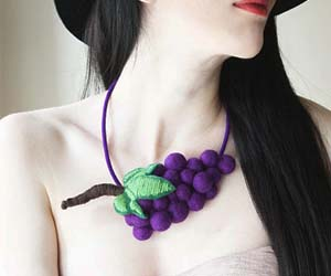 Grapes Necklace