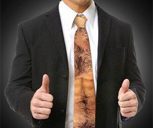 Hairy Chest Tie
