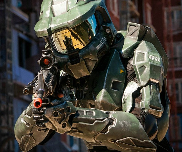 Halo Master Chief Armor Suit Interwebs