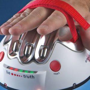 Hand Shocking Lie Detector