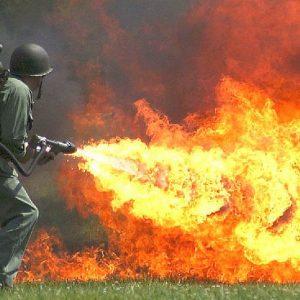 High Pressure Flamethrower