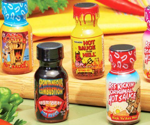 Hot Sauce Challenge Pack