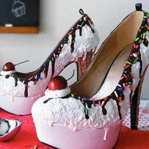 Ice Cream Sundae High Heels