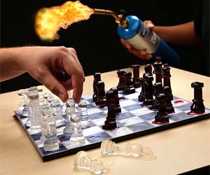 Ice Speed Chess Game
