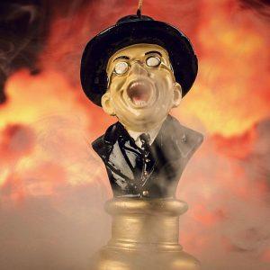 Indiana Jones Melting Face Candle