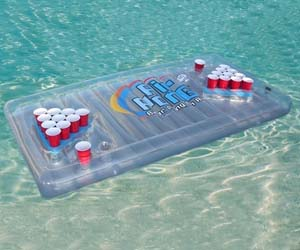Inflatable Beer Pong Table