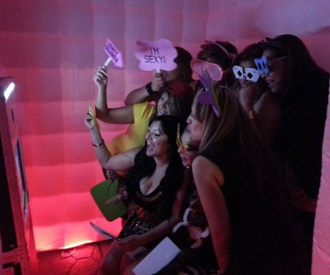 Inflatable LED Photo Booth