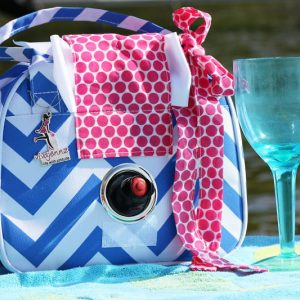 Insulated Wine Flask Purse