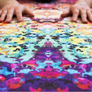 Intricate & Vibrant Yoga Mats