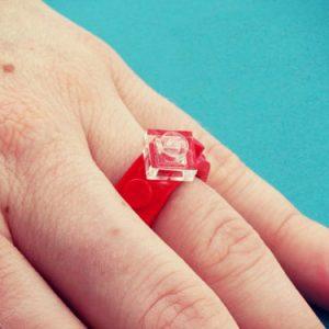 LEGO Engagement Ring
