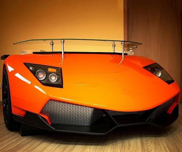 Lamborghini Furniture: Lamborghini Murcielago Desk