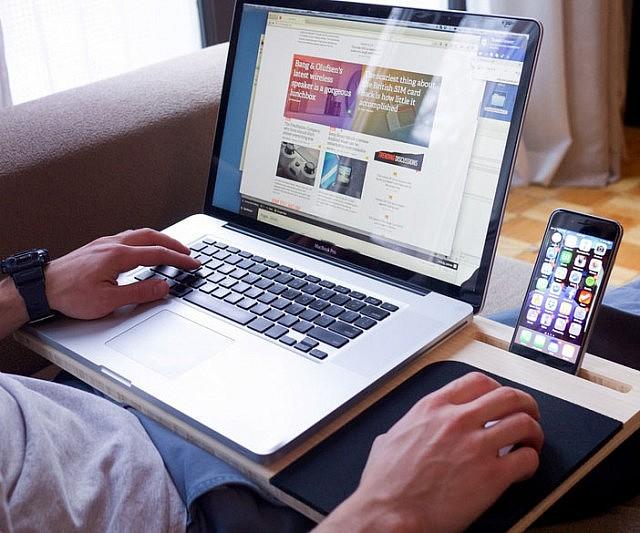 Laptop Tablet Phone Mobile Desk Interwebs