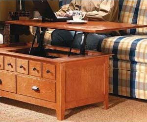Lift Out Coffee Table
