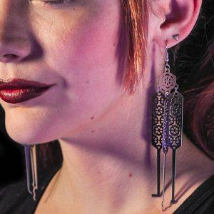 Lock Pick Earrings